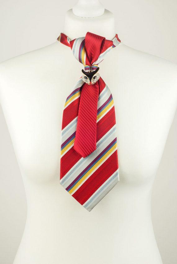 Fox Pendant Necktie