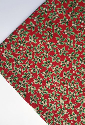 Christmas Holly Intricate Pattern