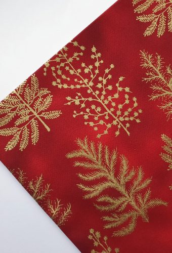 Red Christmas Tree Cotton