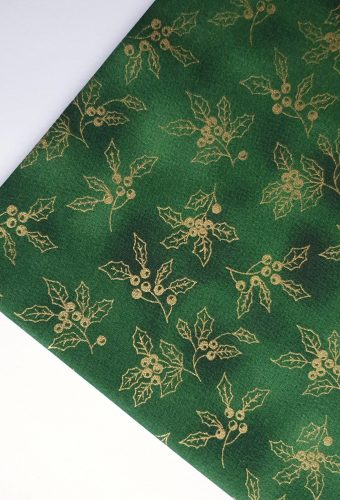 Christmas Holly Cotton