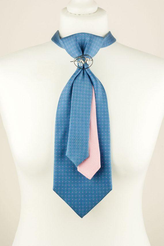 Blue, Pink, Unique tie