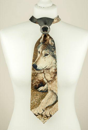 Grey, Wolf Necktie