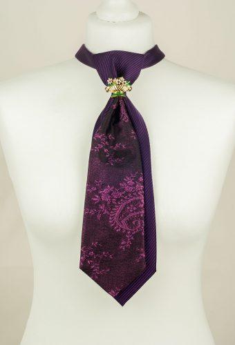Purple Tie, Sparkly Tie, Unique Tie