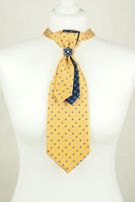 Yellow tie, Unique Textile