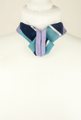 Origami, Blue, Butterfly Bow Tie