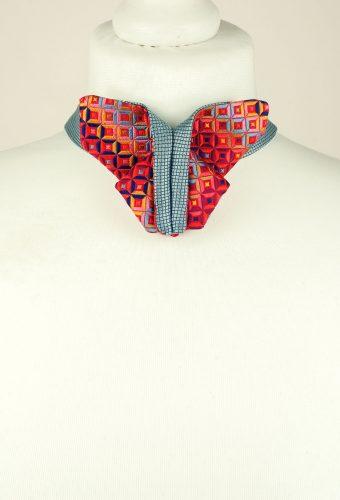Origami Bow Tie, Red Bow Tie, Multicolour