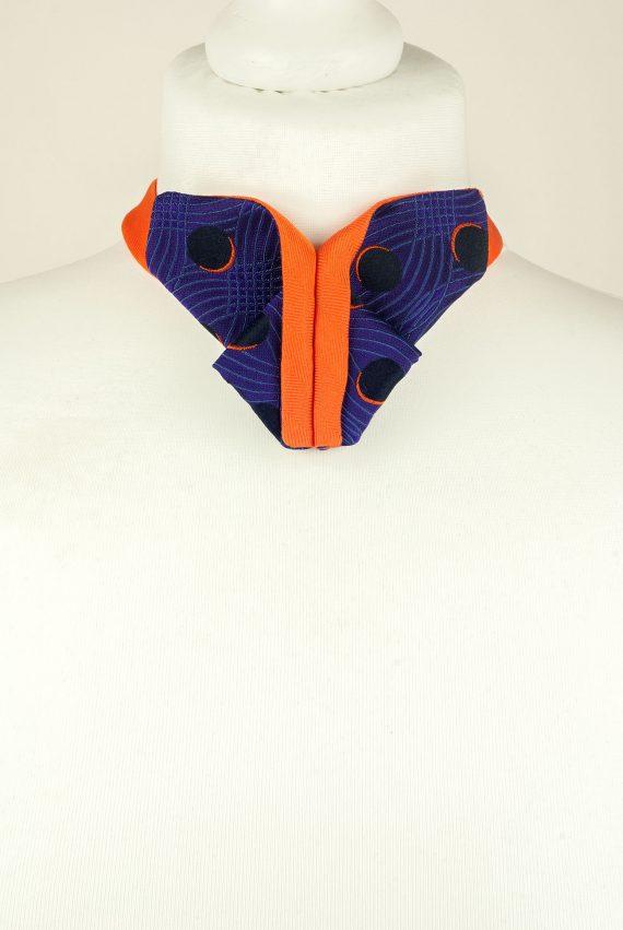 Origami Bow Tie, Butterfly Bow Tie, Purple, Orange