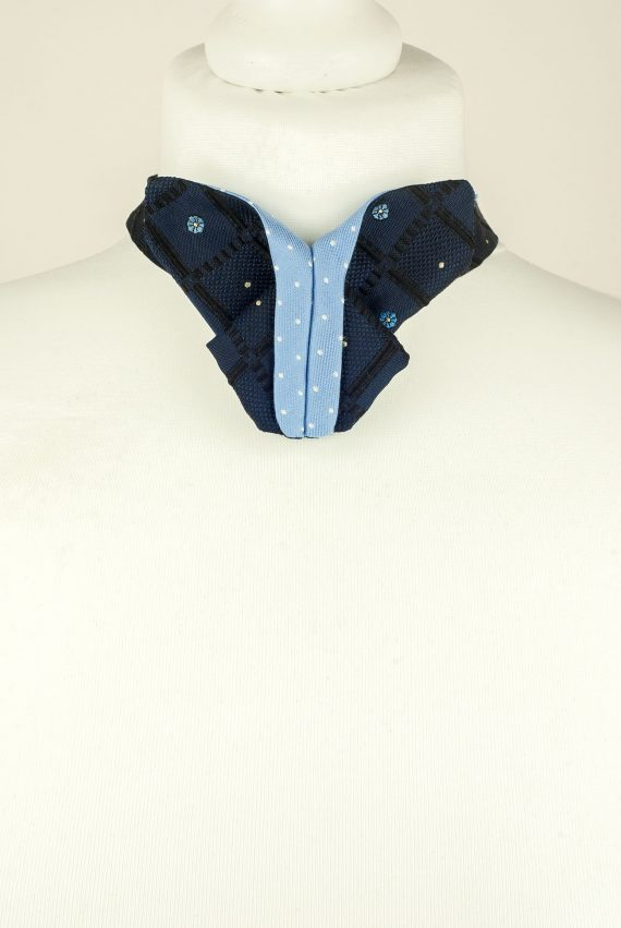 Origami Butterfly Bow Tie, Navy, Blue